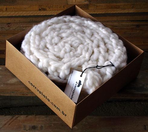 white scarf corrupiola