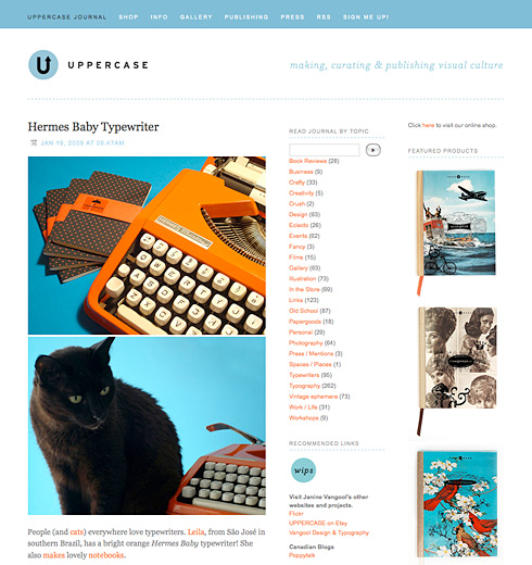 uppercase journal