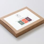 Kit de cartões Florais: Bem-te-vi