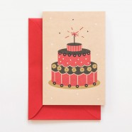Cartão de aniversário: Bem-te-vi