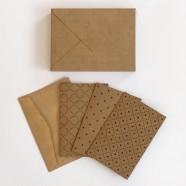 Kit de cartões Kraft: Bem-te-vi