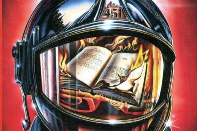 Capa do livro Fahrenheit-451